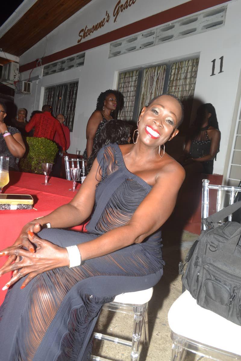 Lystra Cudjoe enjoys her recent birthday celebration. Photo provided by Lystra Cudjoe