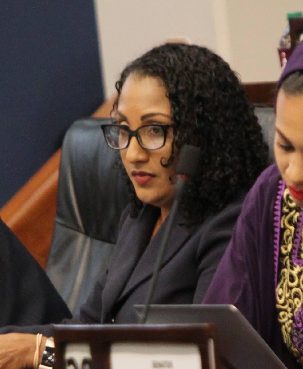 Opposition Senator Anita Haynes   PHOTO BY SUREASH CHOLAI