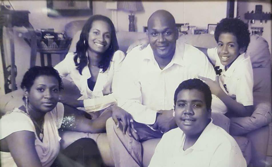 Children of San Fernando Mayor Junia Regrello, from left, Dionne, Mandisa, Javan, Nicholas and Joshua Regrello.