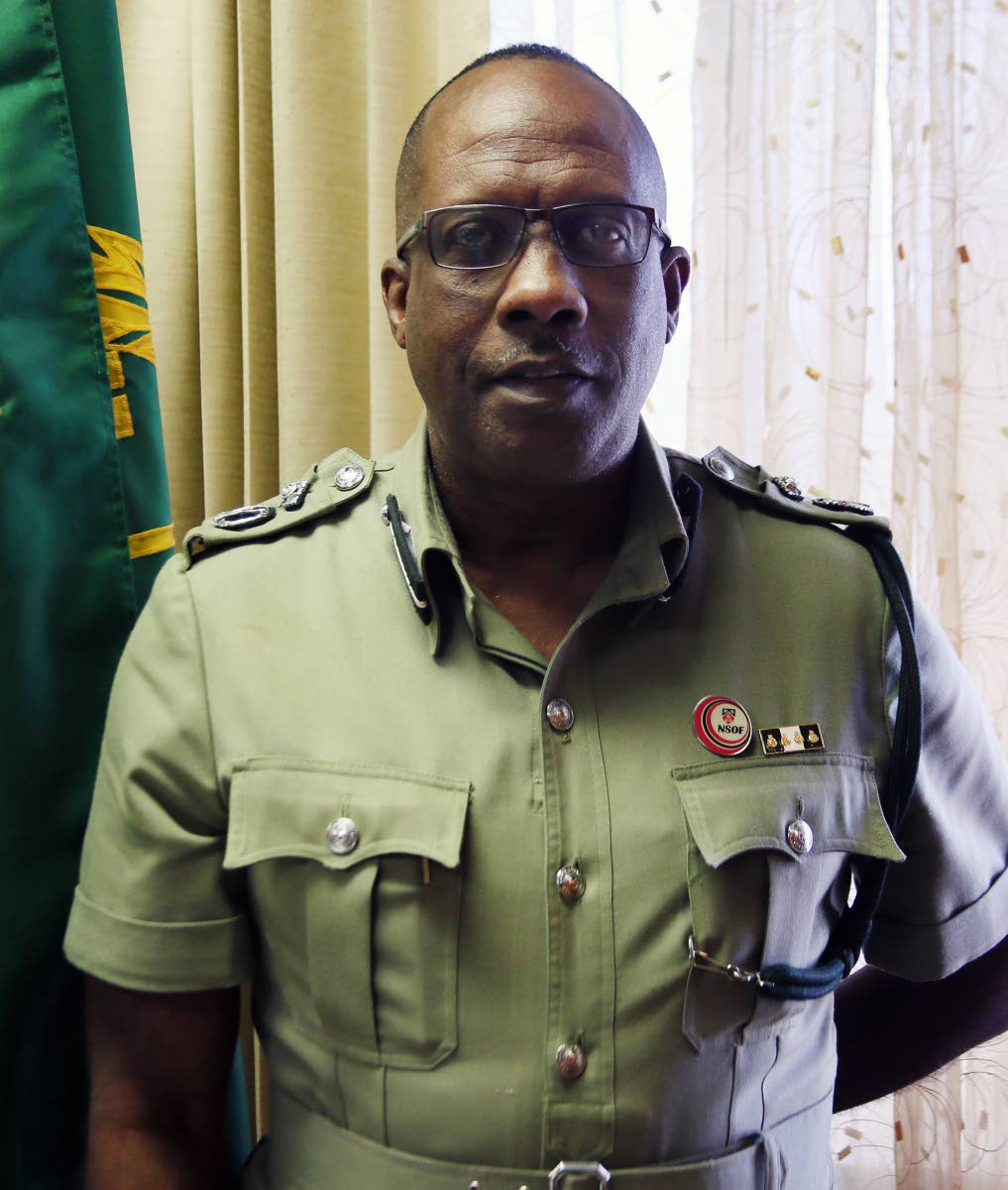 Prisons Commissioner Gerard Wilson.
