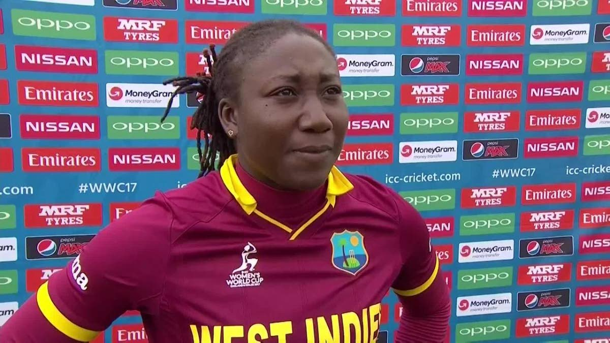 Jamaica's Stafanie Taylor scored 98 yesterday to beat TT in the Women's 50-over Championship.