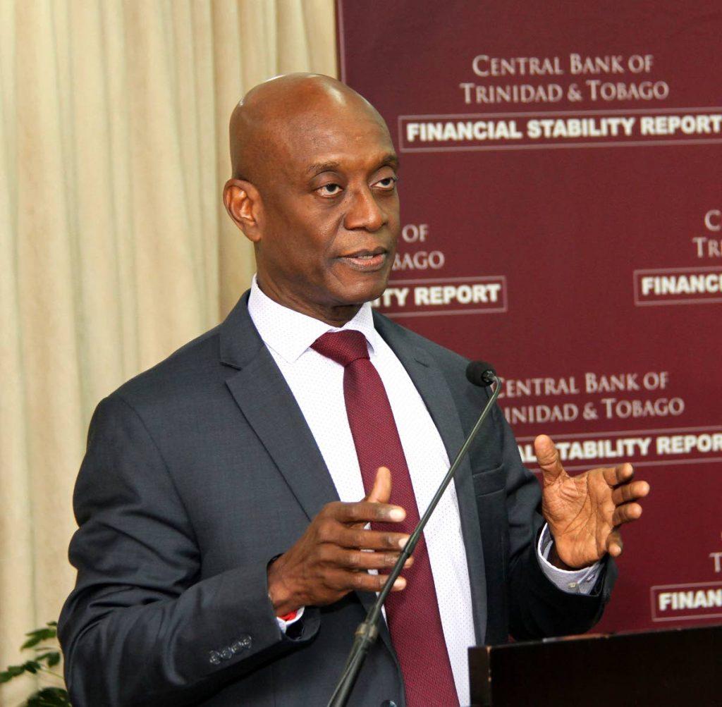 Central Bank Governor Dr Alvin Hilaire PHOTO BY SUREASH CHOLAI