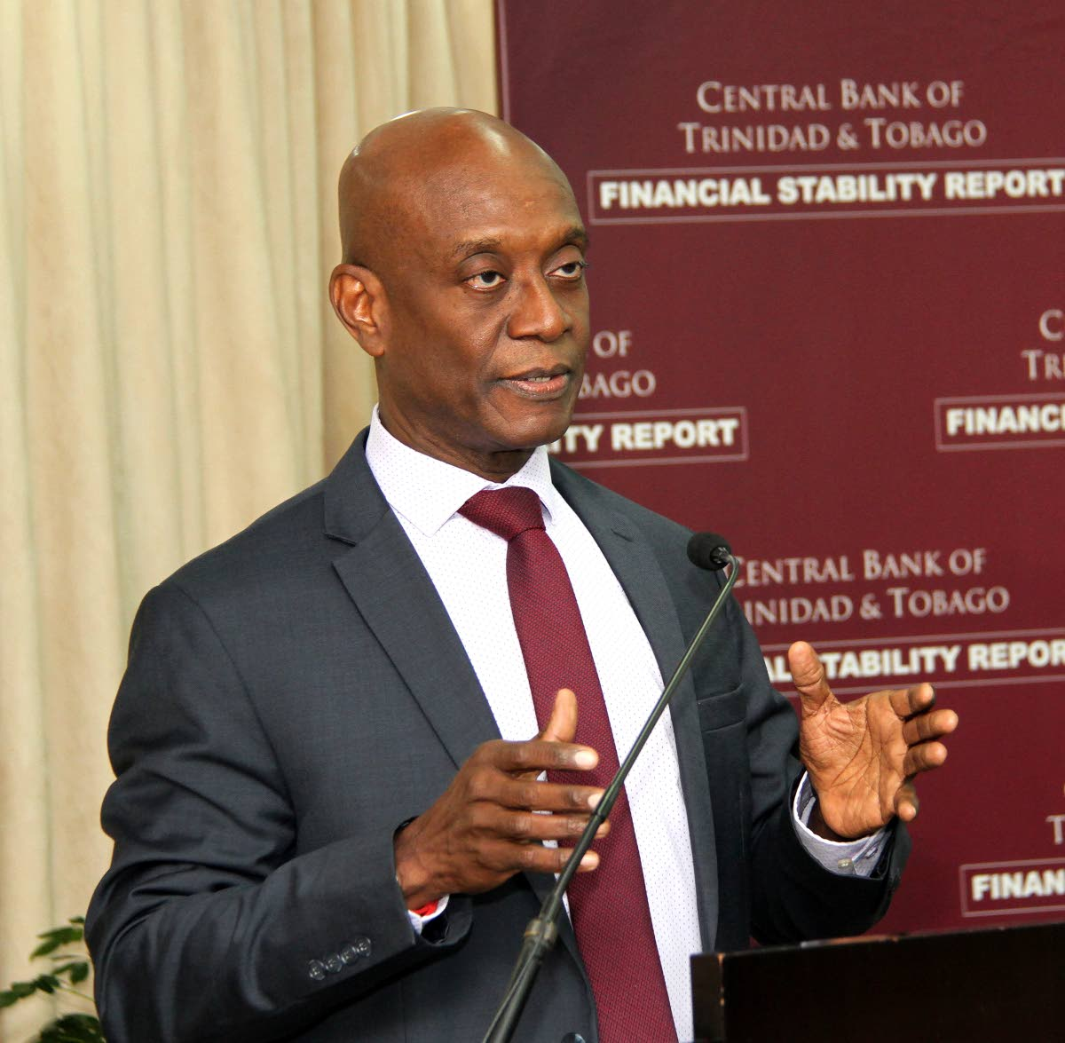 Central Bank Governor Dr Alvin Hilaire PHOTO BY SUREASH CHOLAI