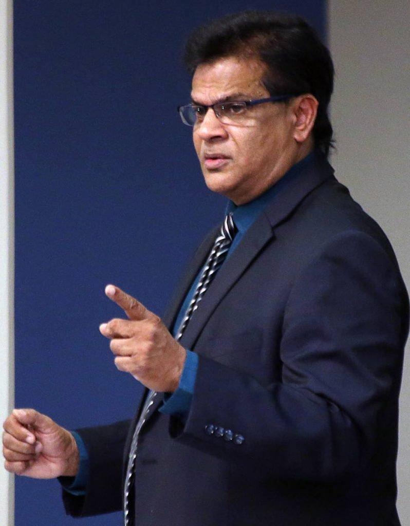 Barataria/San Juan MP Dr Fuad Khan