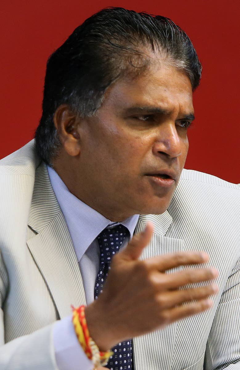 Oropouche East MP Dr Roodal Moonilal.