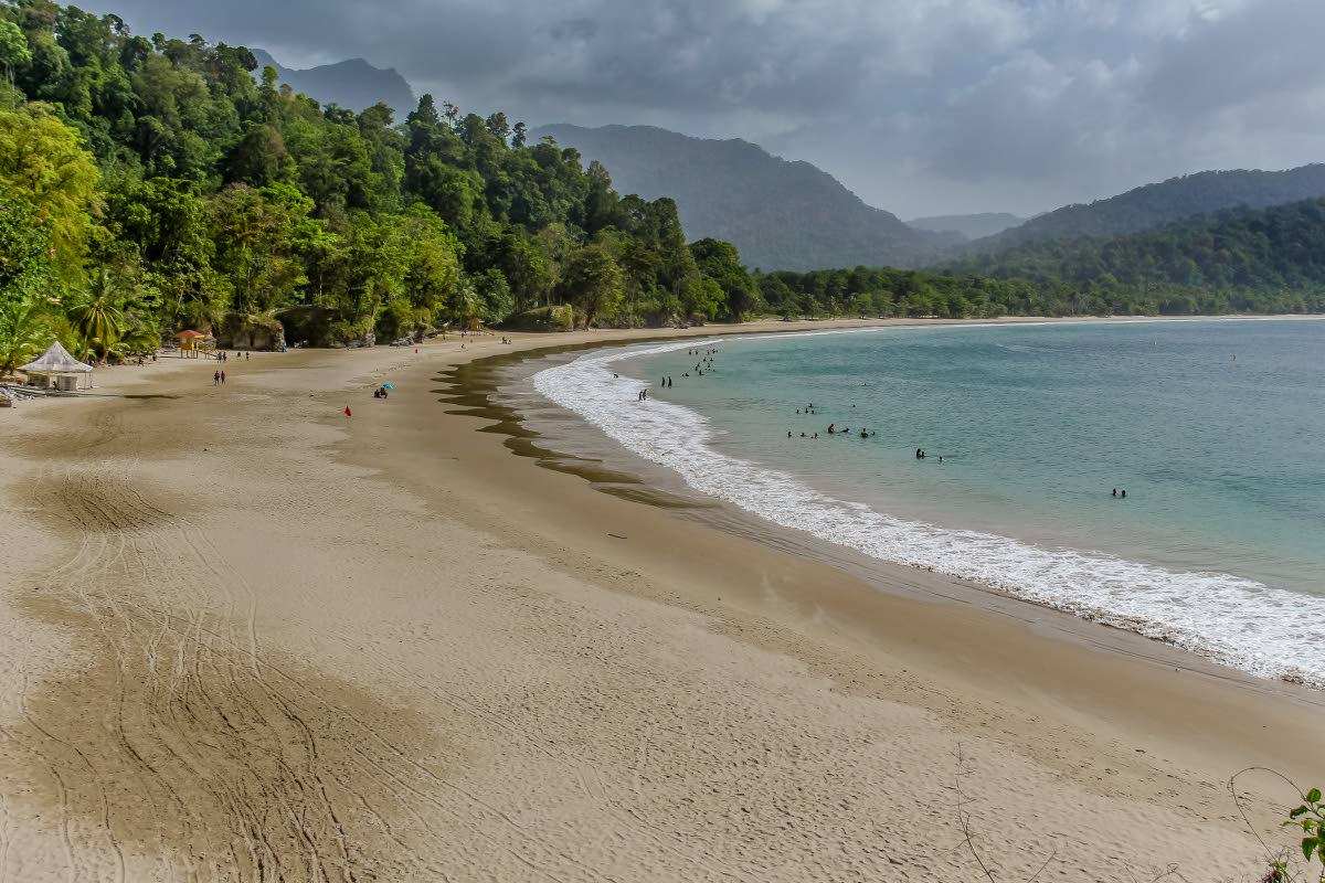 A mid-week visit to Las Cuevas Beach in June 2018 found the beach largely unoccupied. A relatively short drive from the more popular Maracas Beach on Trinidad's north coast, Las Cuevas was once the only Blue Flag beach in the English-speaking southern  Caribbean. It lost the coveted status in 2017 after the TDC, the agency responsible for monitoring water quality, among other things, closed and no replacement body was appointed to take over monitoring activities. PHOTO BY JEFF K MAYERS.