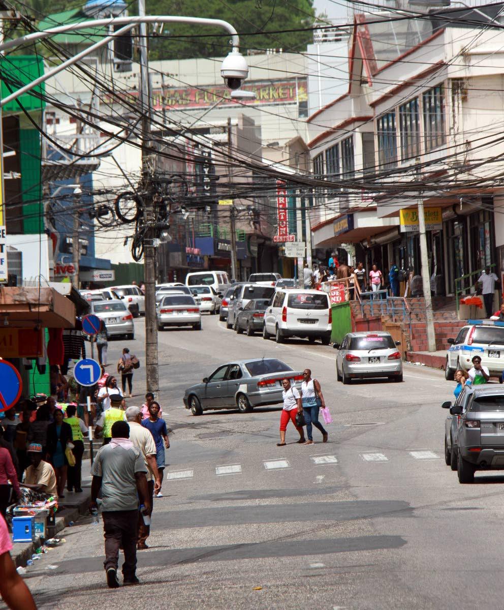 File Photo: High Street, San Fernando  Photo by Anil Rampersad
