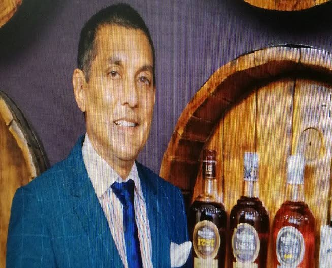 Angostura chairman Terrence Bharath