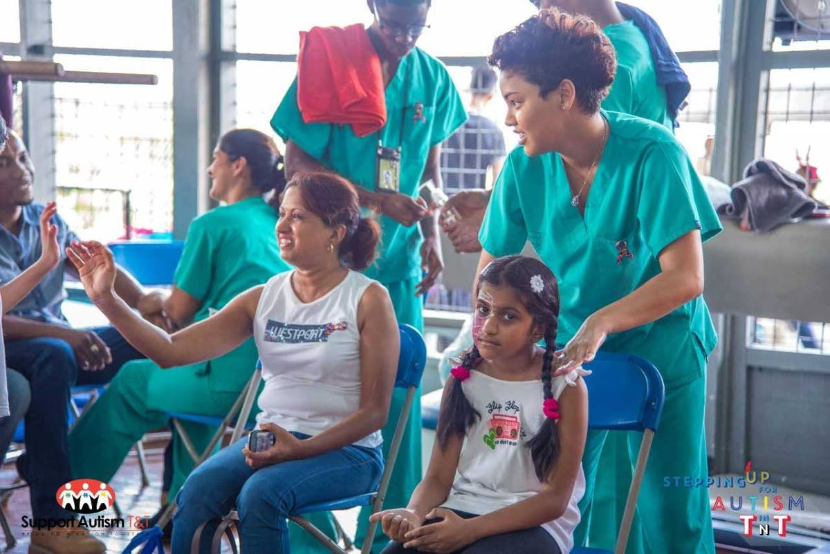 Mom and daughter massages - bonding with your child with special needs.