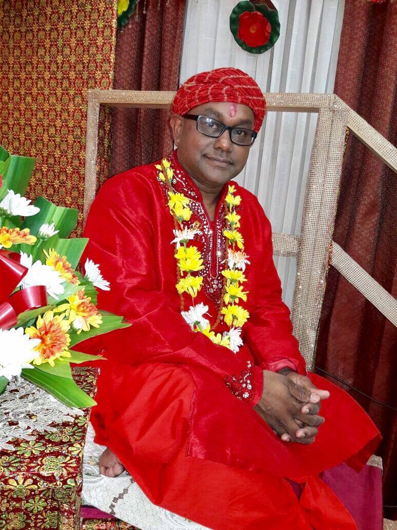 Pundit Satyanand Maharaj, spiritual head of the  Satya Anand Ashram Temple of Truth and Bliss in Aranguez