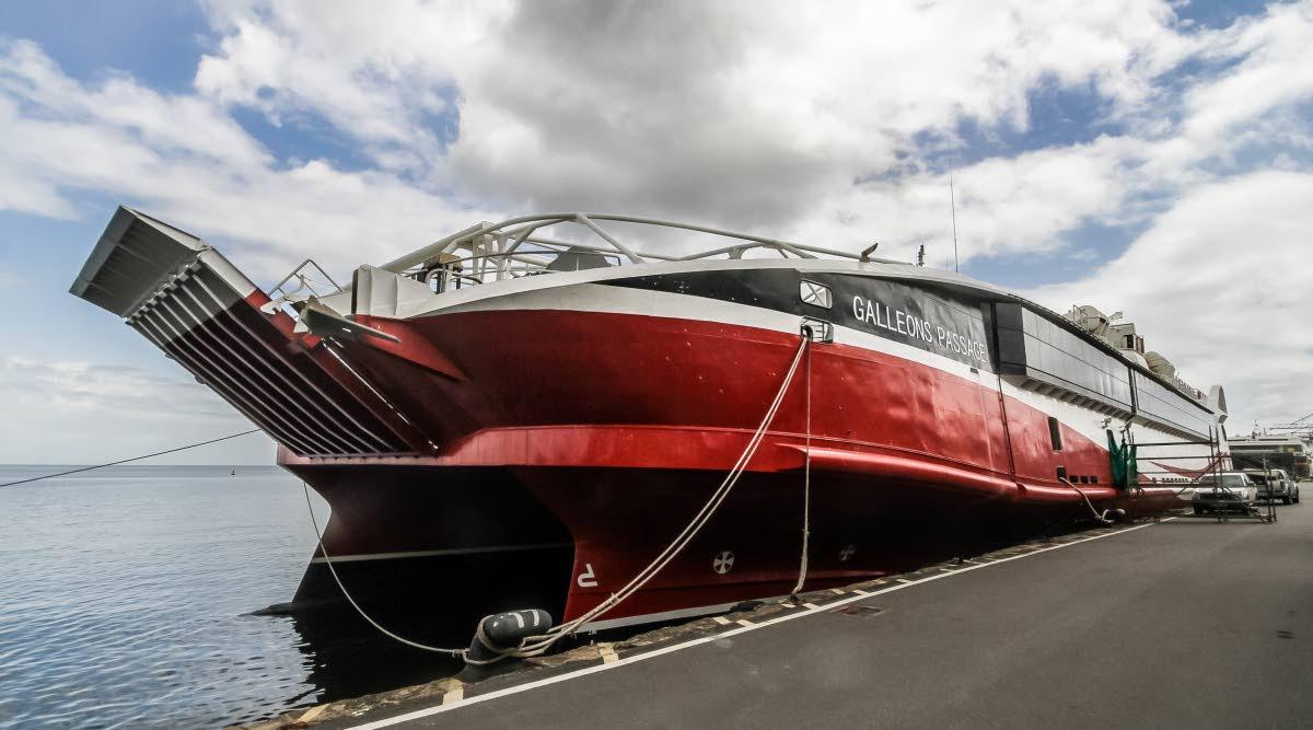 The MV Galleons Passage Photo: Jeff Mayers