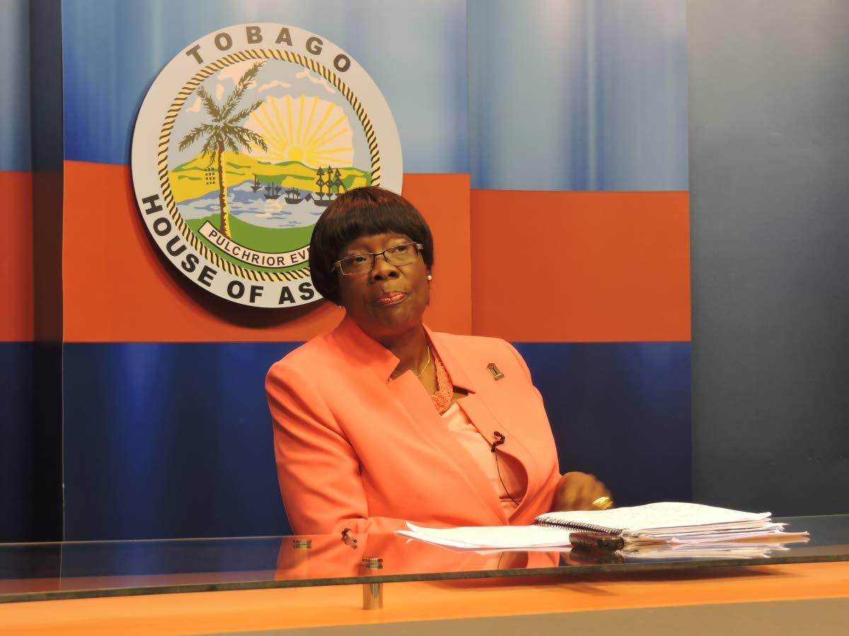 Health Secretary Dr Agatha Carrington