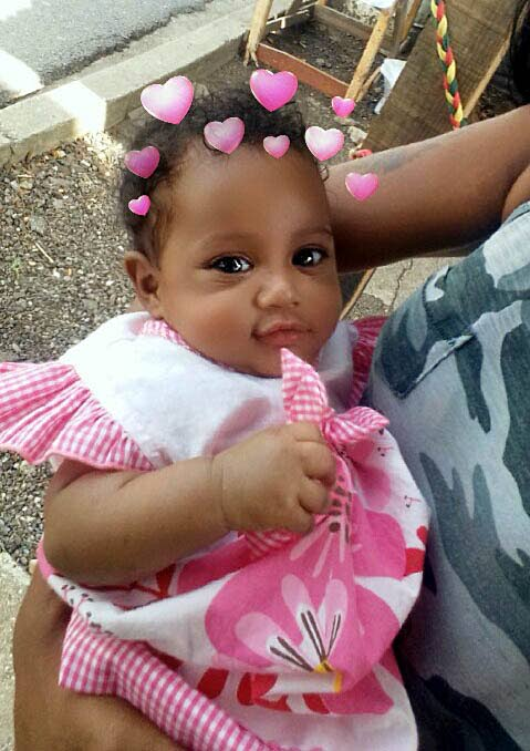 REST IN PEACE: Shanniah James, seven months, who died from lung disease.