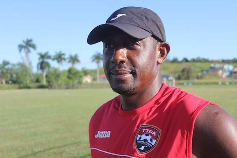 National youth coach Russell Latapy
