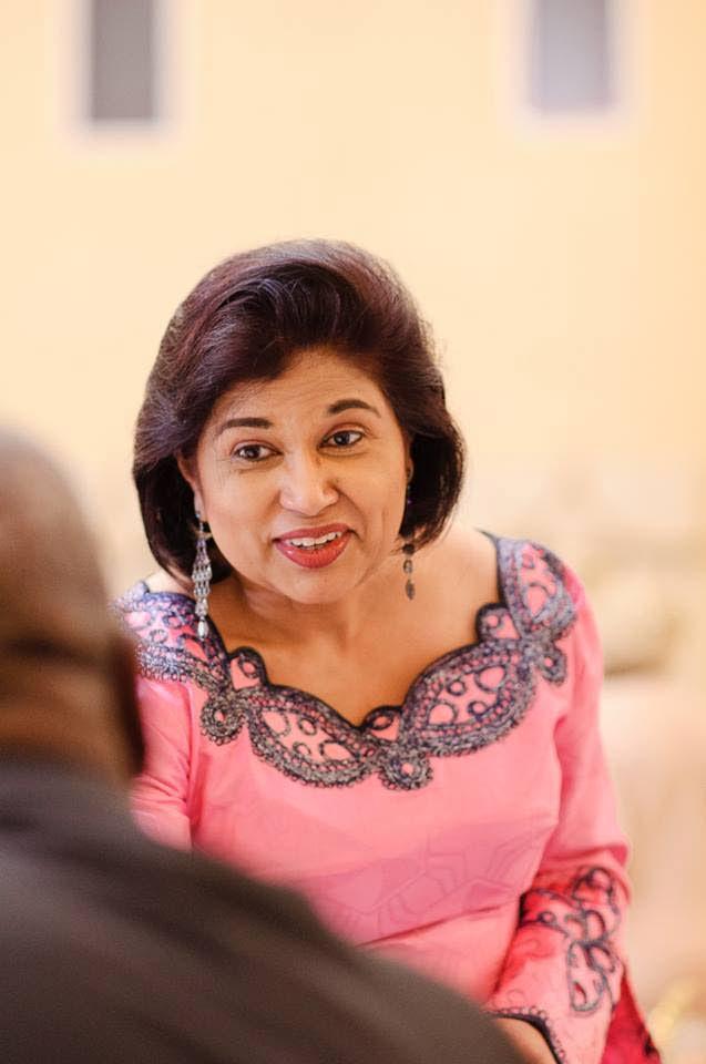 CoP leader Carolyn  Seepersad-Bachan