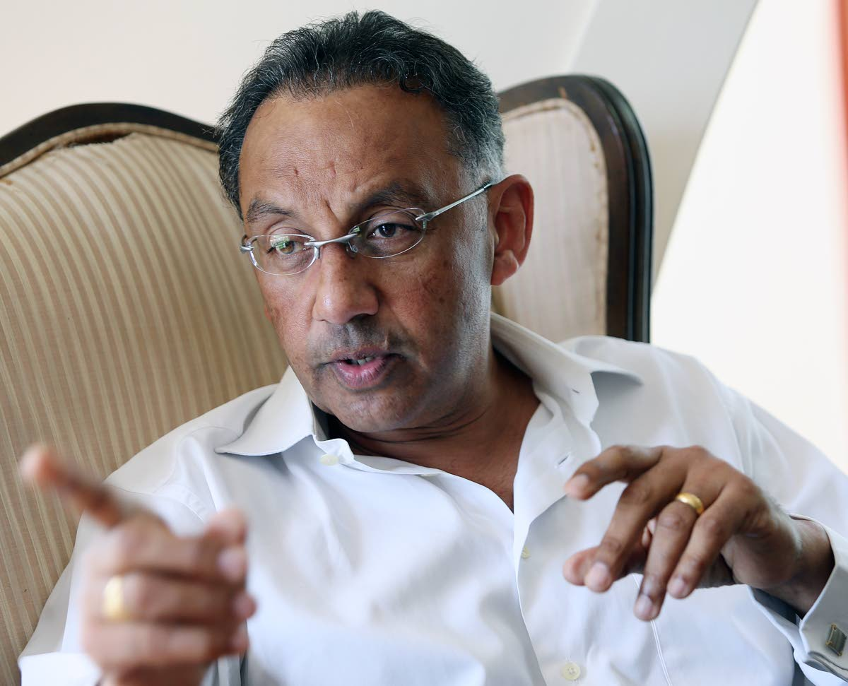 Former trade and industry minister Vasant Bharath.