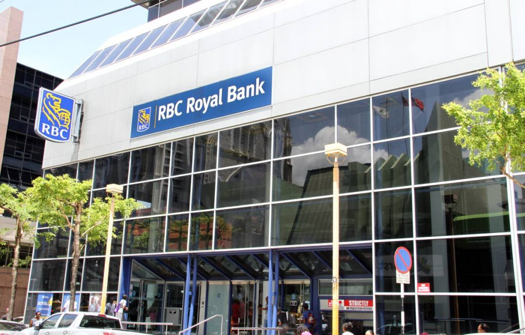 File photo: RBC Royal Bank's Park Street, Port of Spain branch. PHOTO BY SUREASH CHOLAI