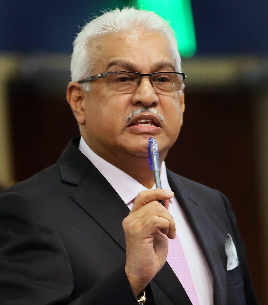 Minister of Health Terrence Deyalsingh. Photo: Azlan Mohammed