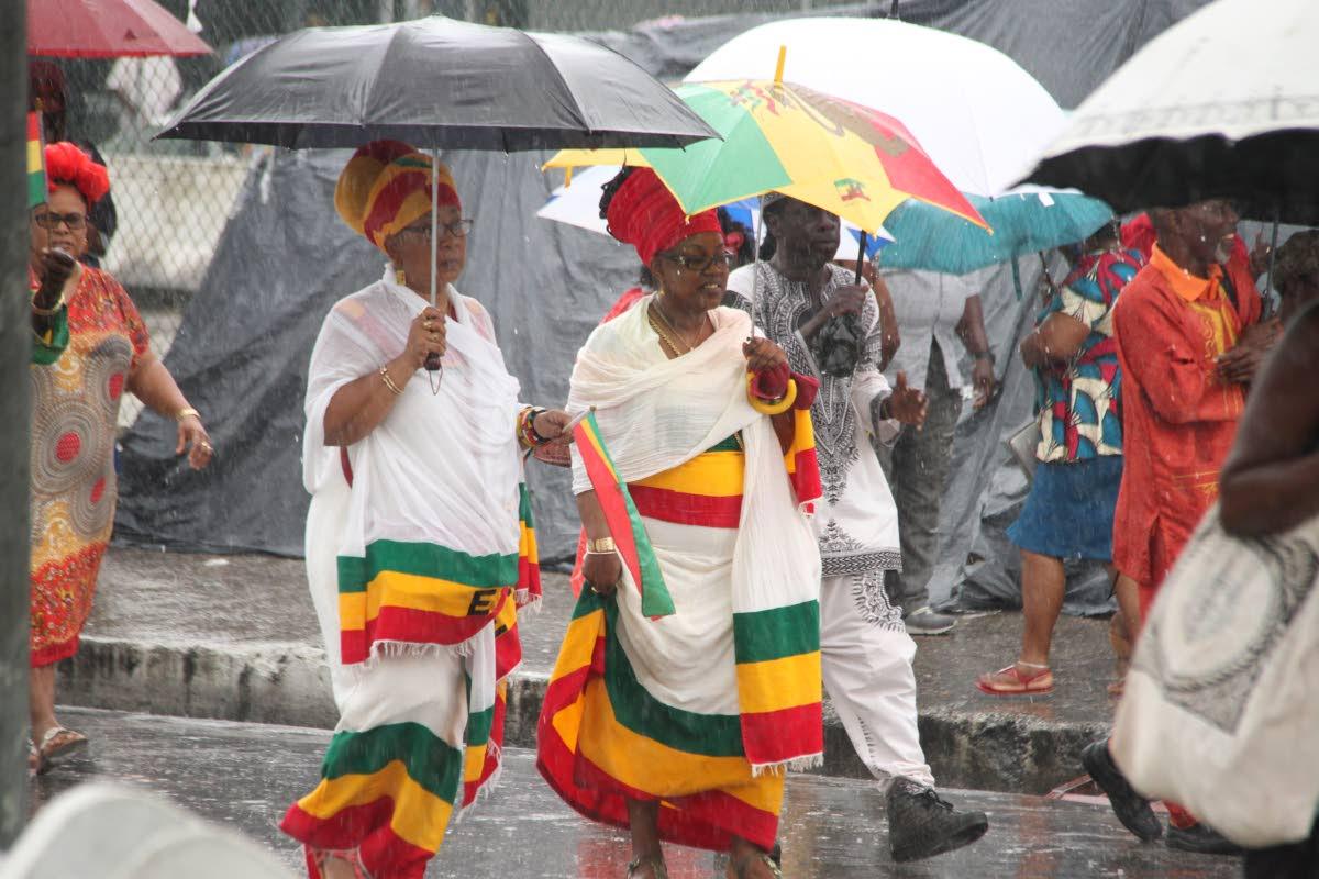 Emancipation Day celebrations in Port of Spain. PHOTO SUREASH CHOLAI  01-08-18