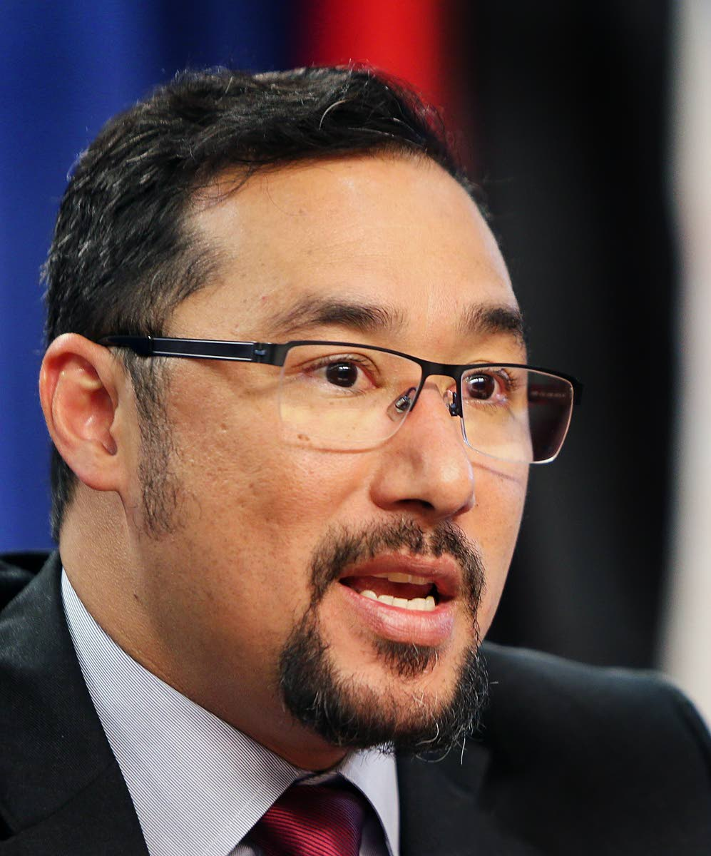 National Security Minister Stuart Young. Photo: Azlan Mohammed
