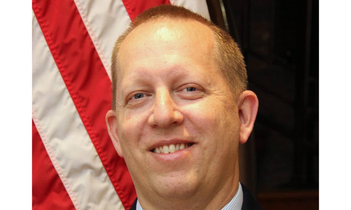 US embassy Chargé d'Affaires John McIntyre