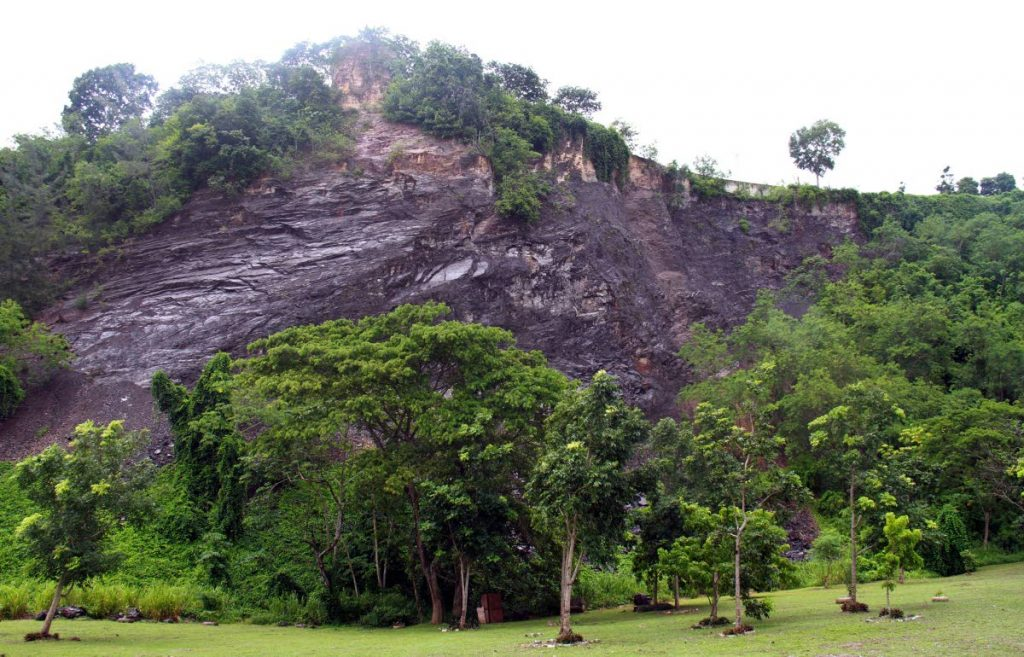 The back of the San Fernando Hill. PHOTO:  ANIL RAMPERSAD.