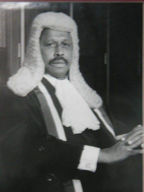 Former chief justice Clinton Bernard. Photo Courtesy ttlawcourts.org