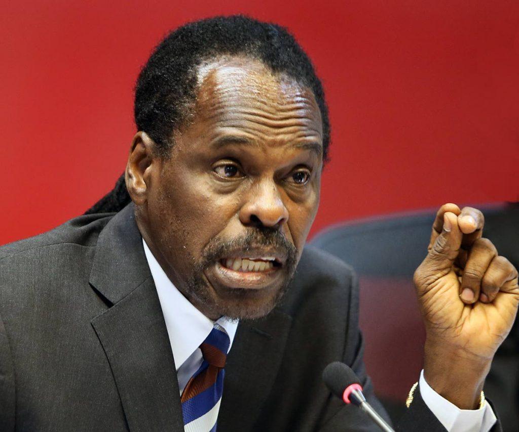 Laventille West MP Fitzgerald Hinds