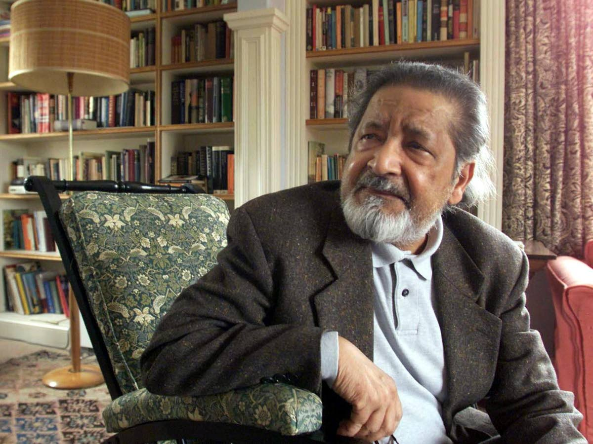 VS Naipaul was awarded the Nobel prize for literature in 2001. (Reuters )
