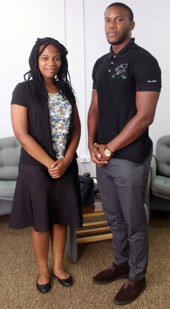 Kyla Thomas and Darryan Cornwall, recipients of the Cuban scholarships to study medicine, hope to one day specialise in either paediatrics, oncology or cardiology.