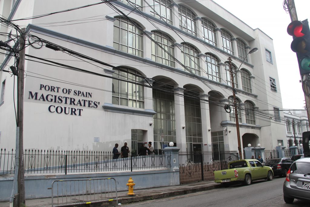 Port of Spain Magistrates' Court  Photo: Sureash Cholai