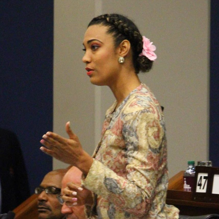 Opposition Senator Khadijah Ameen. FILE PHOTO