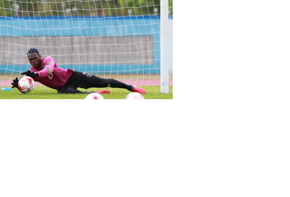 North East Stars goalie Glenroy Samuel was brilliant in a 1-1 draw with W Connection.