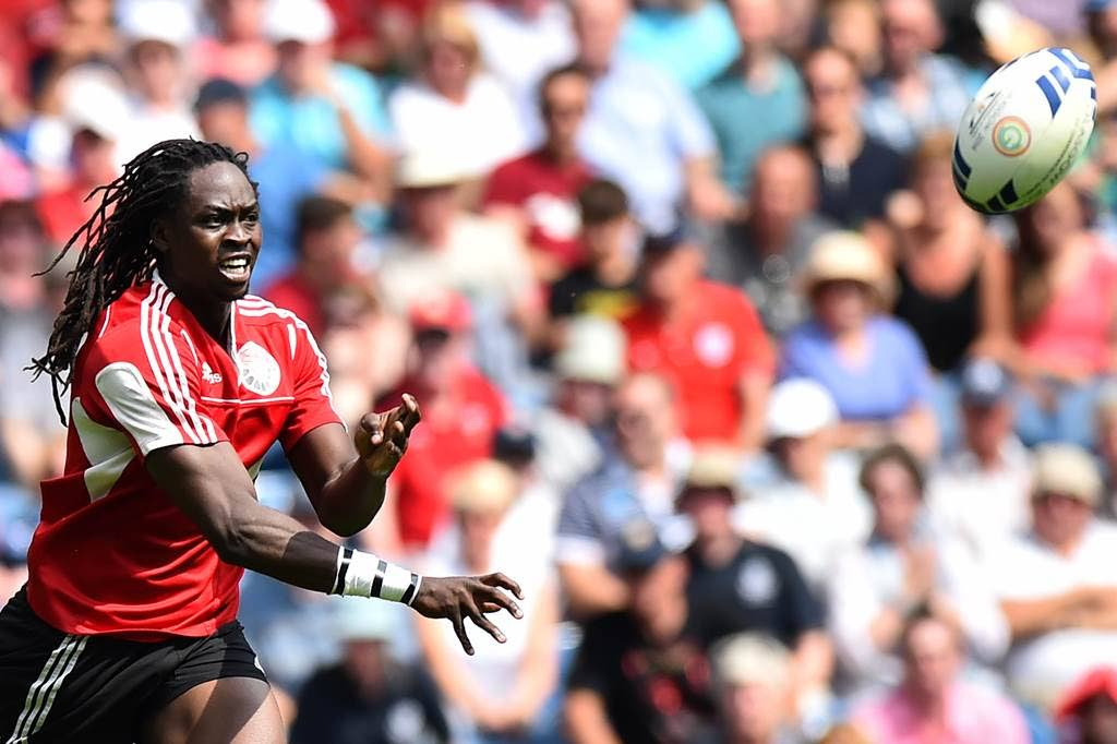 TT rugby player Agboola Silverthorne