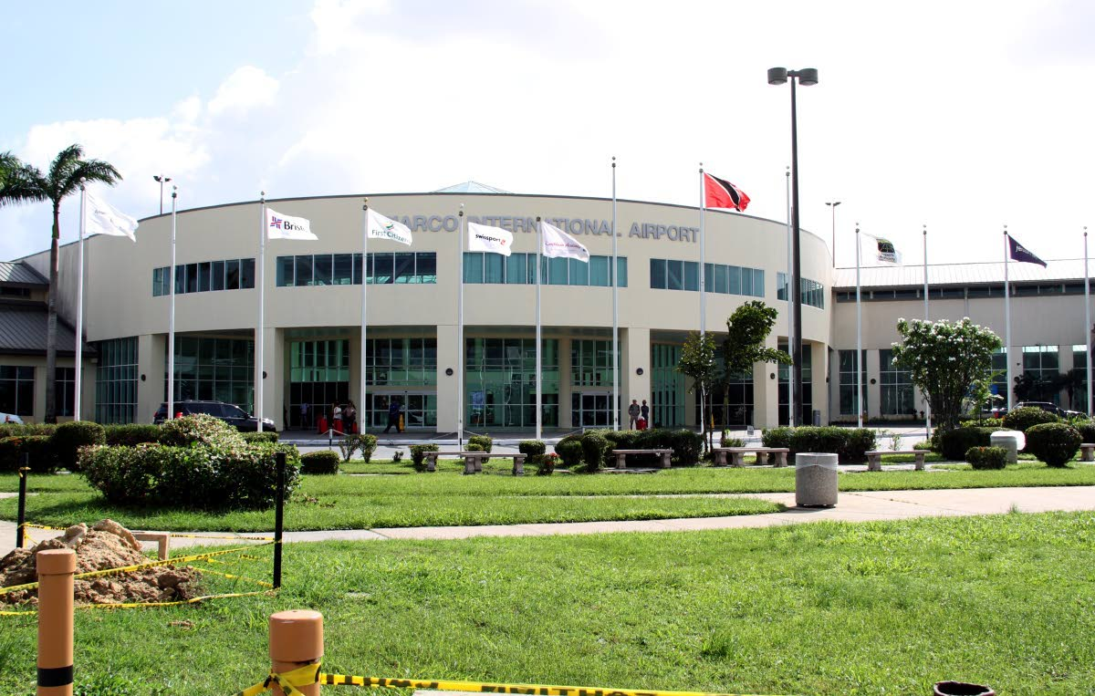 Piarco International Airport. The Airports Authority has suspended five officers for raising concerns in the media about security at the airport. FILE PHOTO