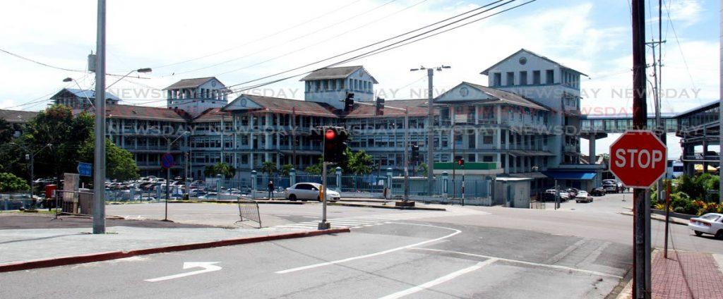 File photo: The San Fernando General Hospital.