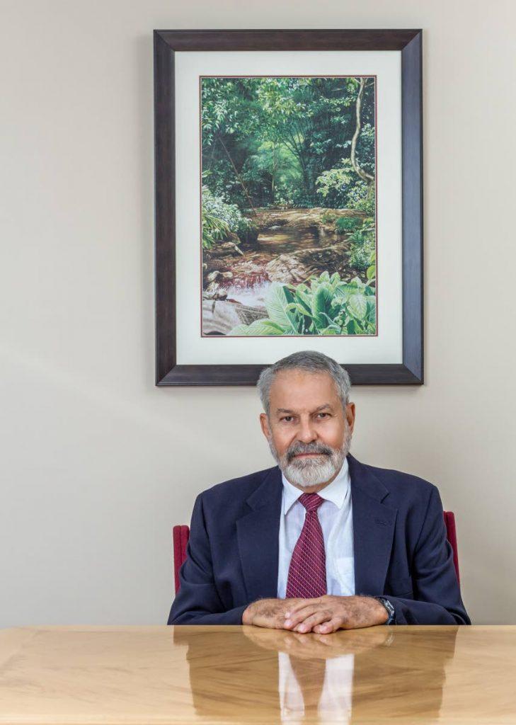 Steve Castagne, Chairman of the Board, Daily News Ltd. Photo by Jeff K Mayers