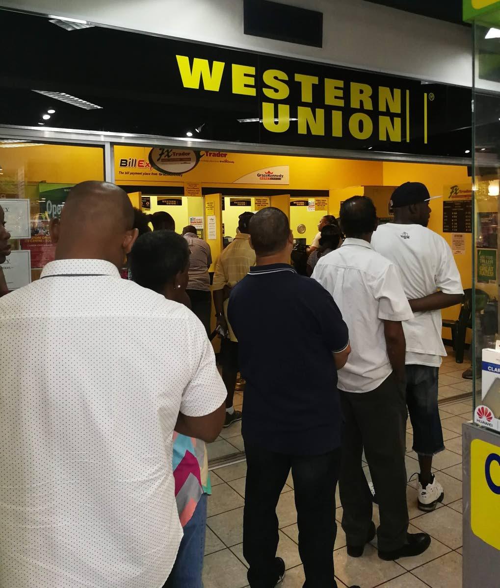 Western union forex