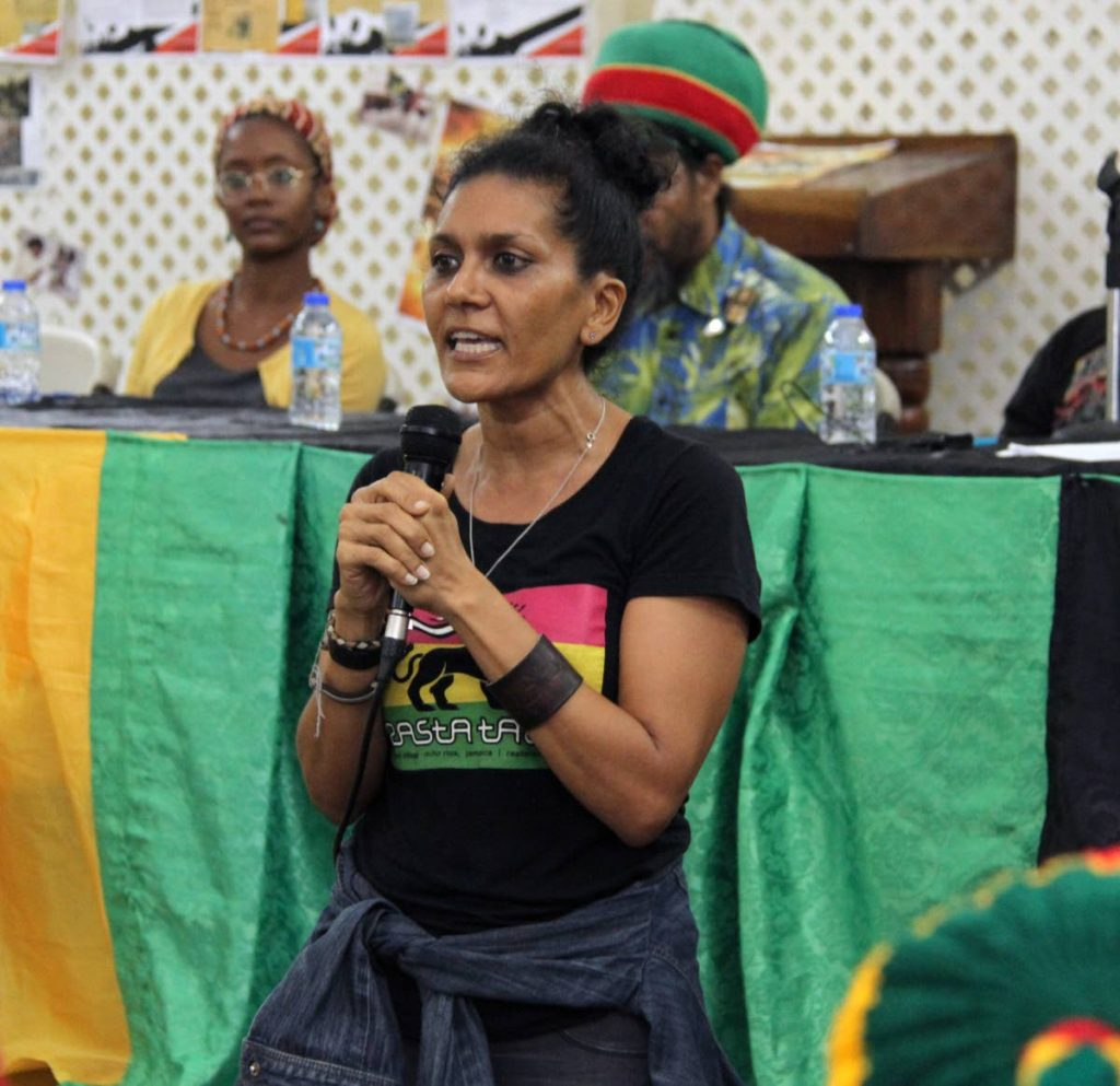 Image result for first cannabis rally trinidad