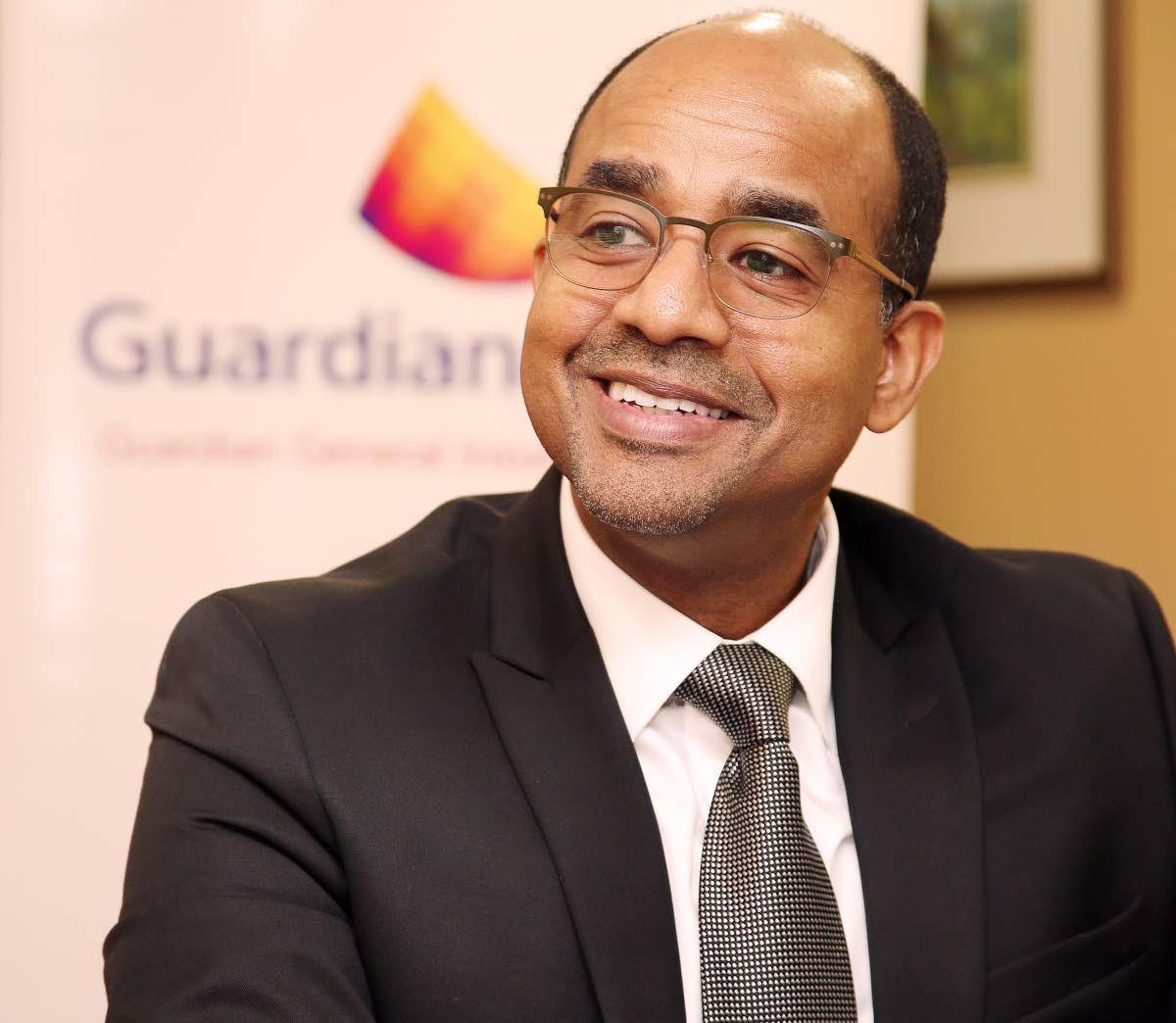 Dean Romany, president of Guardian General Insurance Ltd PHOTO BY AZLAN MOHAMMED