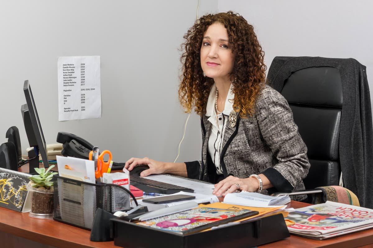 Judy Raymond, Editor In Chief, Newsday. Photo by Jeff K Mayers