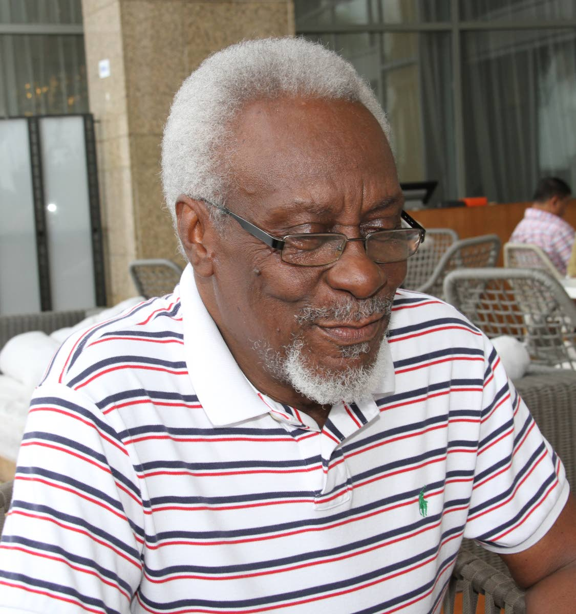 PJ Patterson, former prime minister of Jamaica, reflects on the Caribbean and his life in politics in a Sunday Newsday interview at Hyatt Regency, Port of Spain on September 17. PHOTO BY SUREASH CHOLAI