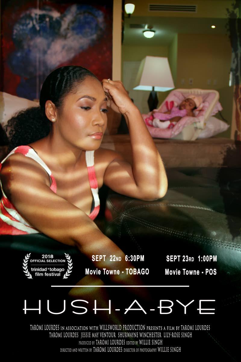 Taromi Lourdes Joseph in a scene from Hush a Bye film.