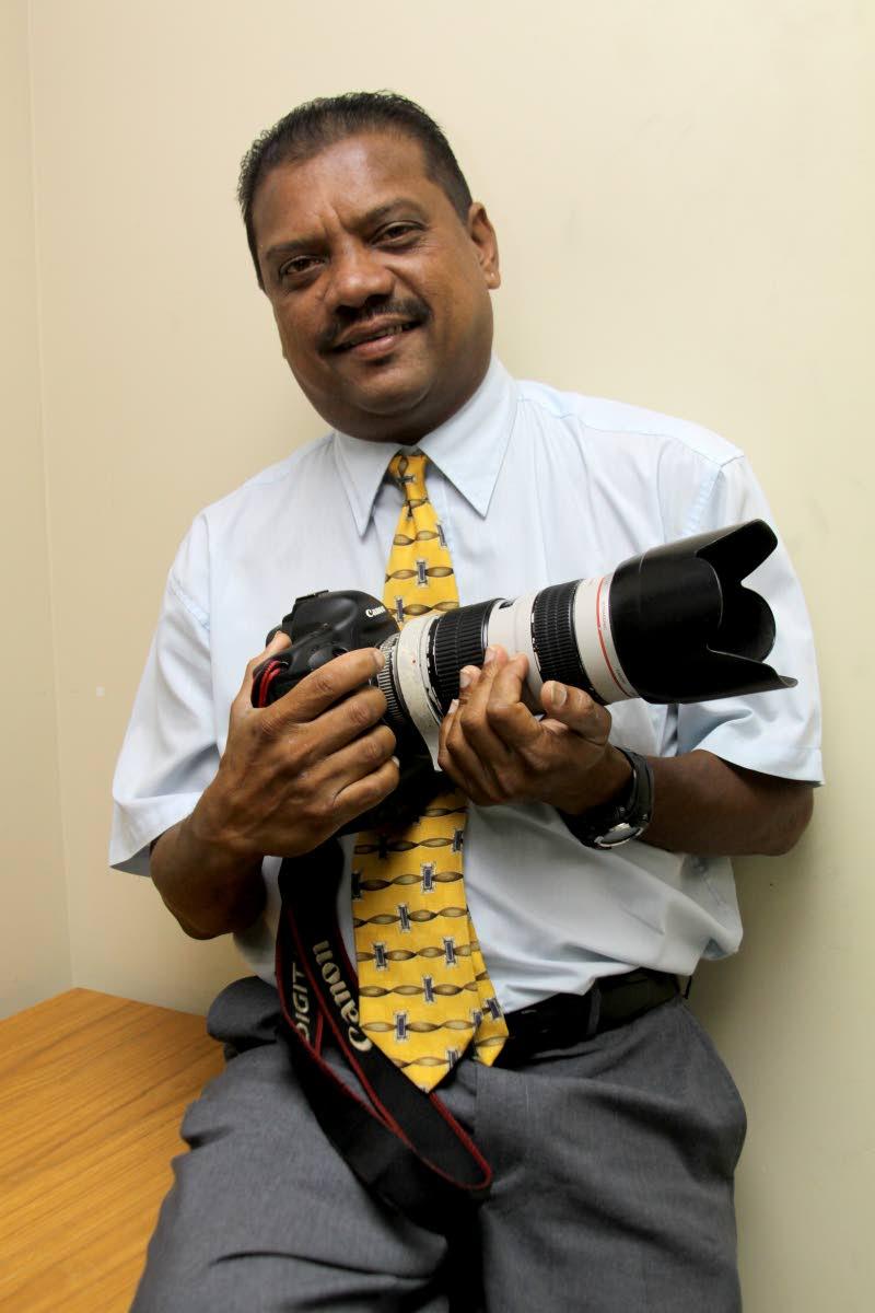 Newsday Chief Photographer, Rattan Jadoo.
