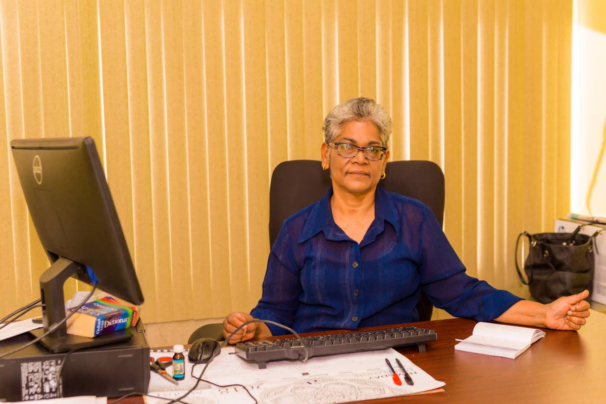 Sita Bridgemohan, Newsday Tobago Editor.↔PHOTO BY Newsday