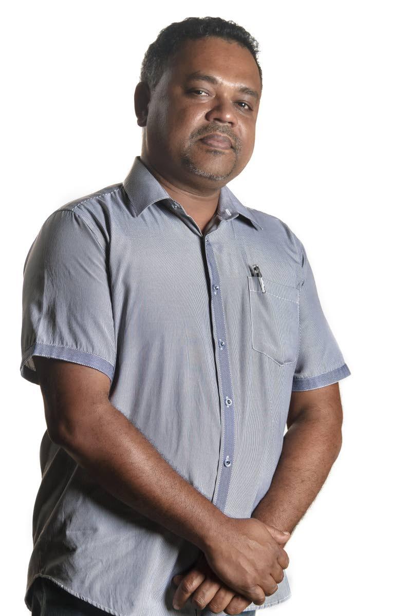 Newsday Pressroom Manager Manoj Christopher. Photo by Jeff K Mayers