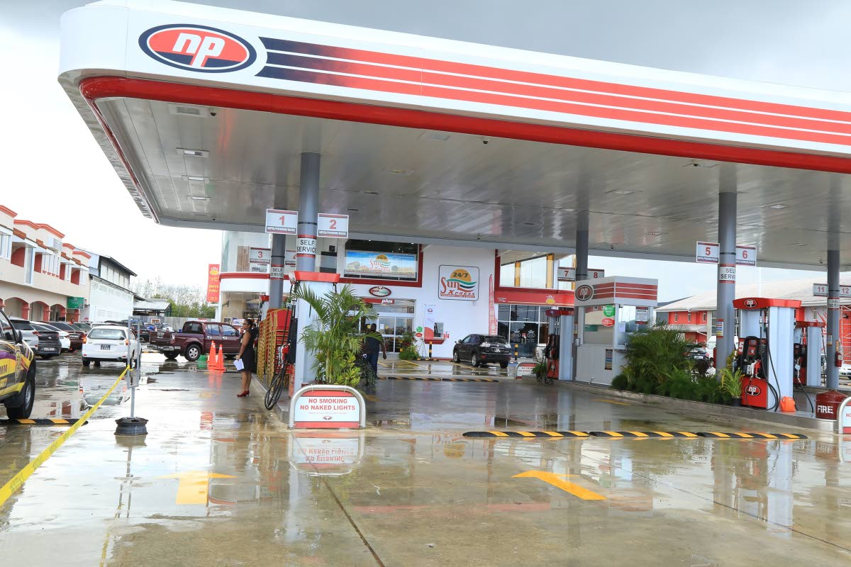 The TT National Petroleum Marketing Company Ltd's (NP) new gas station on Munroe Road, Charlieville is an example of 'the new look' NP stations. PHOTO COURTESY NP.