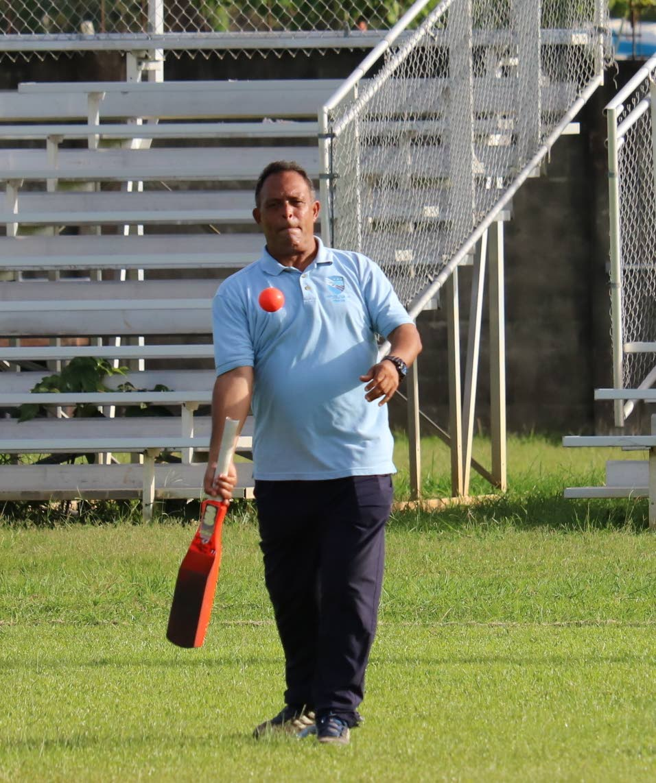 New TT senior cricket selector David  Furlonge.