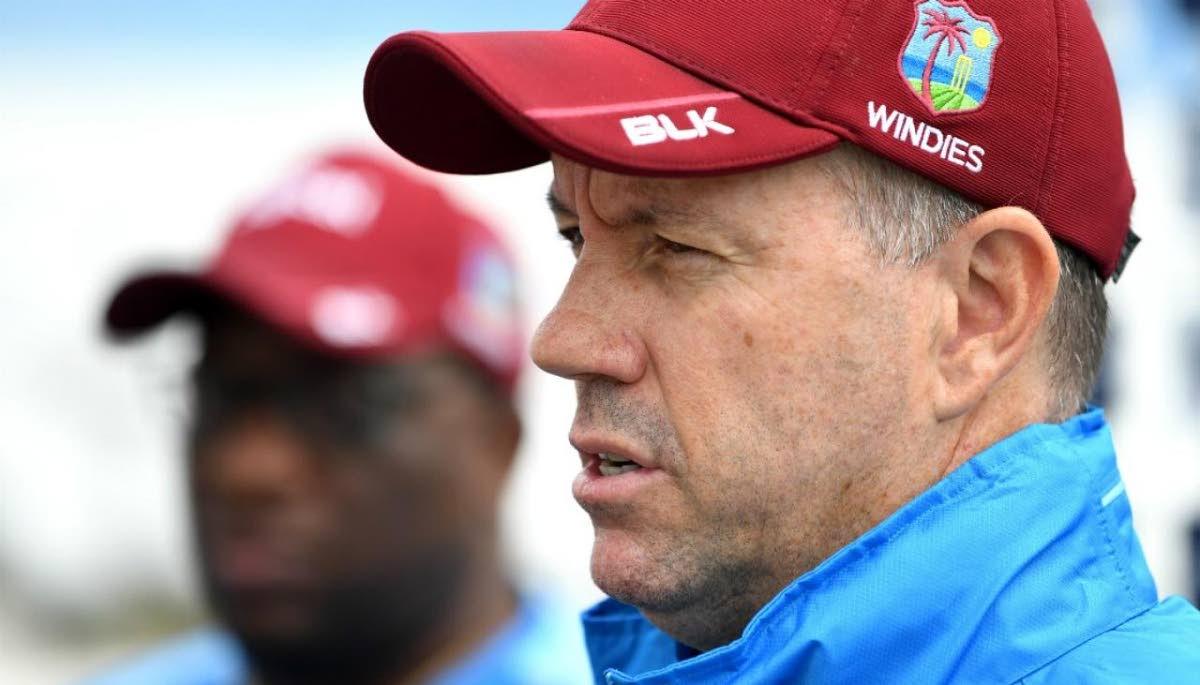 Head coach the West Indies men's squad Stuart Law