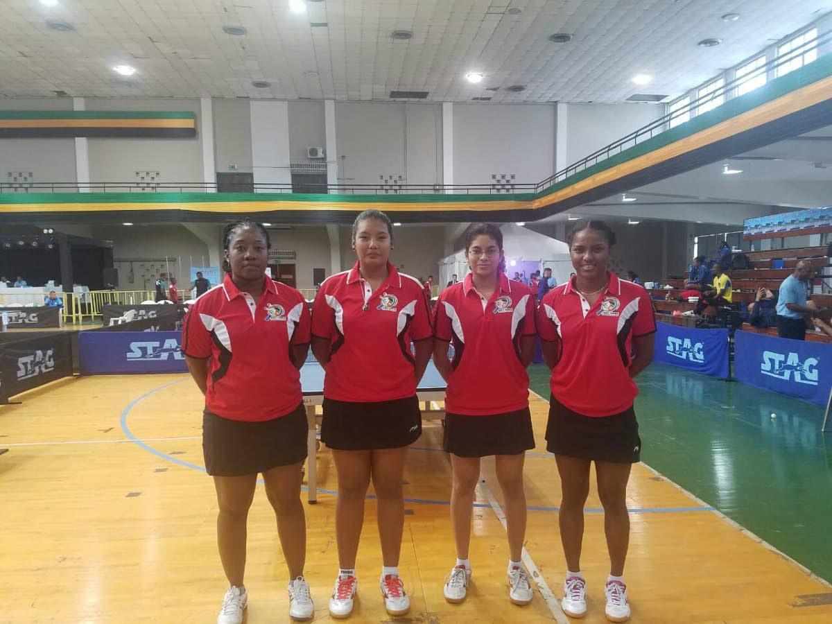TT Women's table tennis team